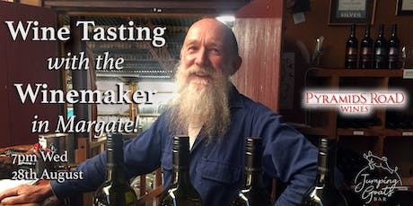 Wine Tasting with the Winemaker of Pyramids Road Wines tickets