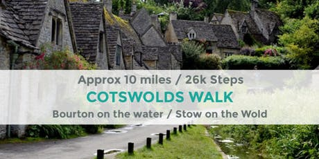 COTSWOLDS WALK | 10 MILES | MODERATE tickets