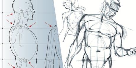 Intensive life drawing course / Cours intensif de modèle vivant billets