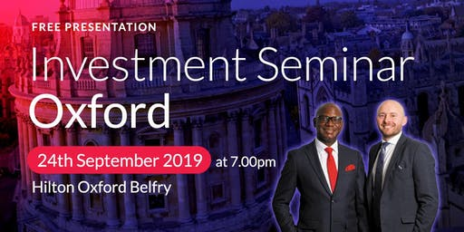 Oxford Investment Seminar on Buy2LetCars