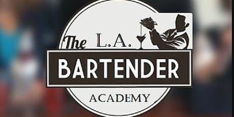 L.A. Bartending Academy Orientation Class 1 tickets