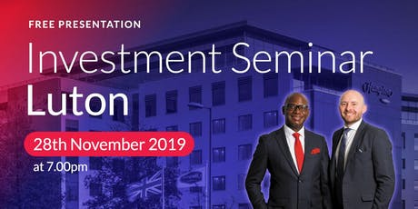 Luton Investment Seminar on Buy2LetCars tickets