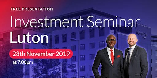 Luton Investment Seminar on Buy2LetCars