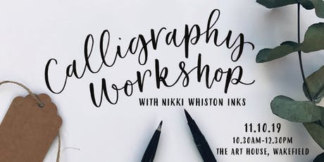 Modern Calligraphy Workshop - Brush Pen tickets
