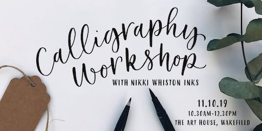 Modern Calligraphy Workshop - Brush Pen