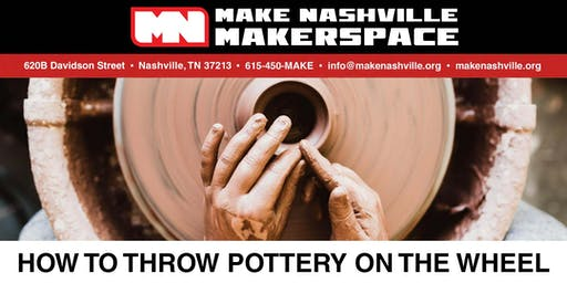 How to throw pottery on the wheel! (5-week program)