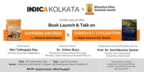Launch and Talk of Saffron Swords and The Saraswati Civilisation tickets