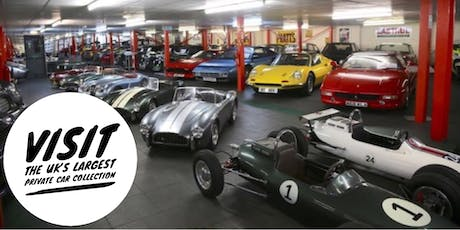 A Private Tour of Studio 434 Classic Car Collection tickets