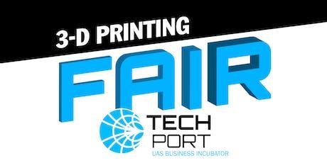 3-D Printing Fair tickets