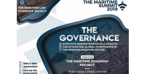 THE MARITIME SUMMIT 2019: THE GOVERNANCE