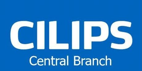 Meet the Cilips President with Cilips Central Branch and East Branch tickets