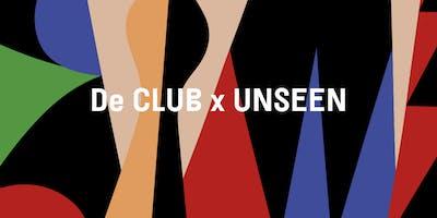 De CLUB x UNSEEN