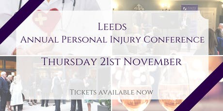 Annual Personal Injury Conference tickets