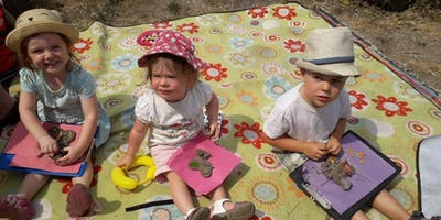 Nature Tots Forest School at Centre for Wildlife Gardening - Half Term 24/02/20-30/03/20