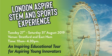 London Aspire Pilot STEM & Sports Experience tickets