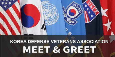 Korea Defense Veterans Association Meet & Greet tickets
