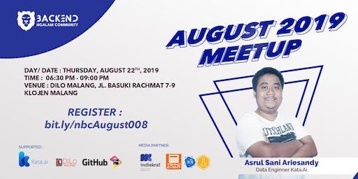 August 2019 Meetup
