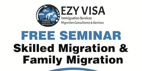 Information Session on Australia Migration tickets