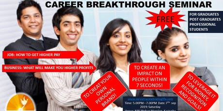 Career Breakthrough Seminar tickets