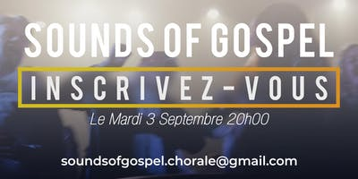 Inscription Chorale Gospel Clermont-Ferrand
