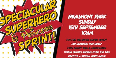 Spectacular Superhero & Princess Sprint  tickets