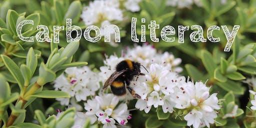 Get carbon literate!