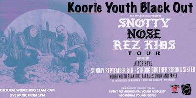 KOORIE YOUTH BLACK OUT