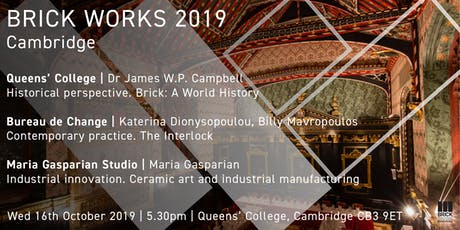 Brick Works 2019, Cambridge tickets