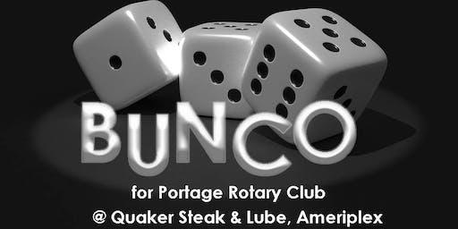 BUNCO for Portage Rotary Club