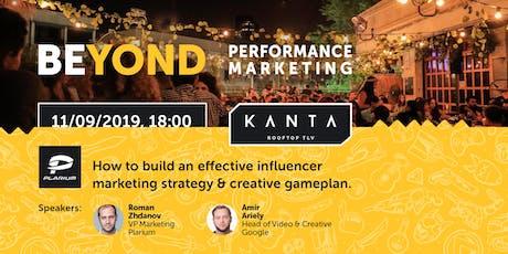 Beyond Performance Marketing tickets