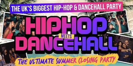 Hip-Hop Meets Dancehall Summer Closing Party tickets