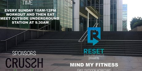 RESET presents Mind my Fitness tickets