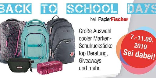 BACK TO SCHOOL DAYS | Aktion