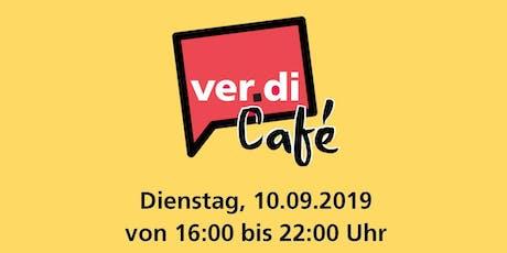 ver.di-Café Tickets