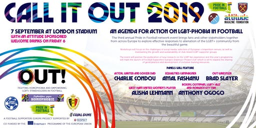 Call it Out 2019: a Europe-wide agenda for action on LGBTphobia in Football