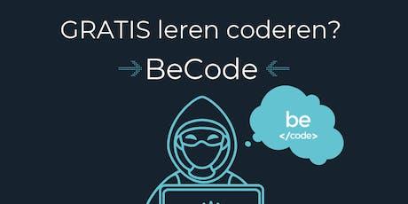 Infosessie BeCode Antwerpen tickets