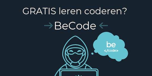 Infosessie BeCode Antwerpen