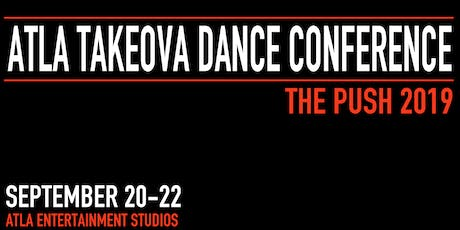 "ATLA TakeOva DANCE Conference ""The Push 2019"" tickets"