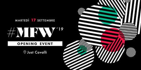 Milan Fashion Week - Opening Event biglietti