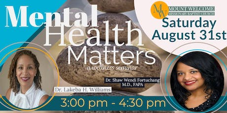 Mental Health Matters tickets