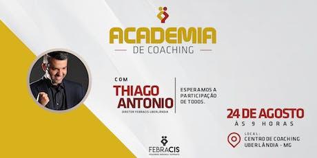 1ª Academia de Coaching Febracis Uberlândia ingressos