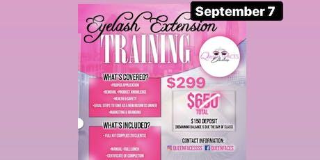 Eyelash Extension Training *Sale*  tickets