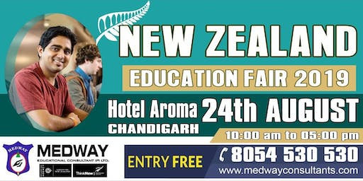 NEW ZEALAND EDUCATION FAIR IN CHANDIGARH,24th AUG 2019