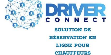 Atelier Driver Connect Developpement Flotte Chauffeur VTC  tickets