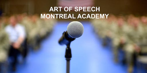 Become a Top Speaker! Free Course Montreal Saturday