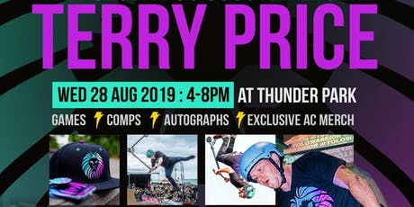 SCOOTER LEGEND TERRY PRICE @ THUNDER PARK tickets