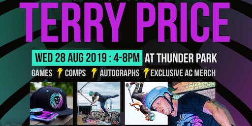 SCOOTER LEGEND TERRY PRICE @ THUNDER PARK