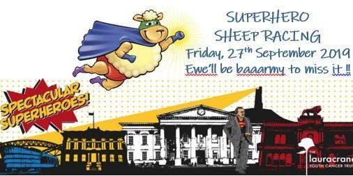 SUPERHERO SHEEP RACING!