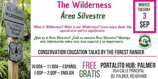 The Wilderness / Área Silvestre