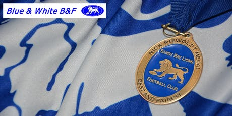The Blue & White B&F tickets